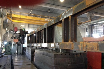 Heavy Milling Machine - 18 Meter Structure